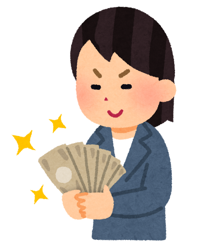 buisnessman money niyakeru woman - 草野華余子(紅蓮華の作曲家)の印税はまさかの○○○円!内約まとめ【カラオケや著作権使用料】
