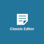 ClassicEditor 150x150 - 【WordPress】Classic Editorは2022年以降もサポート終了はしない【旧エディターに戻して編集する方法】